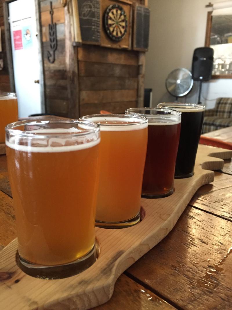Kettle River Brewery Flight